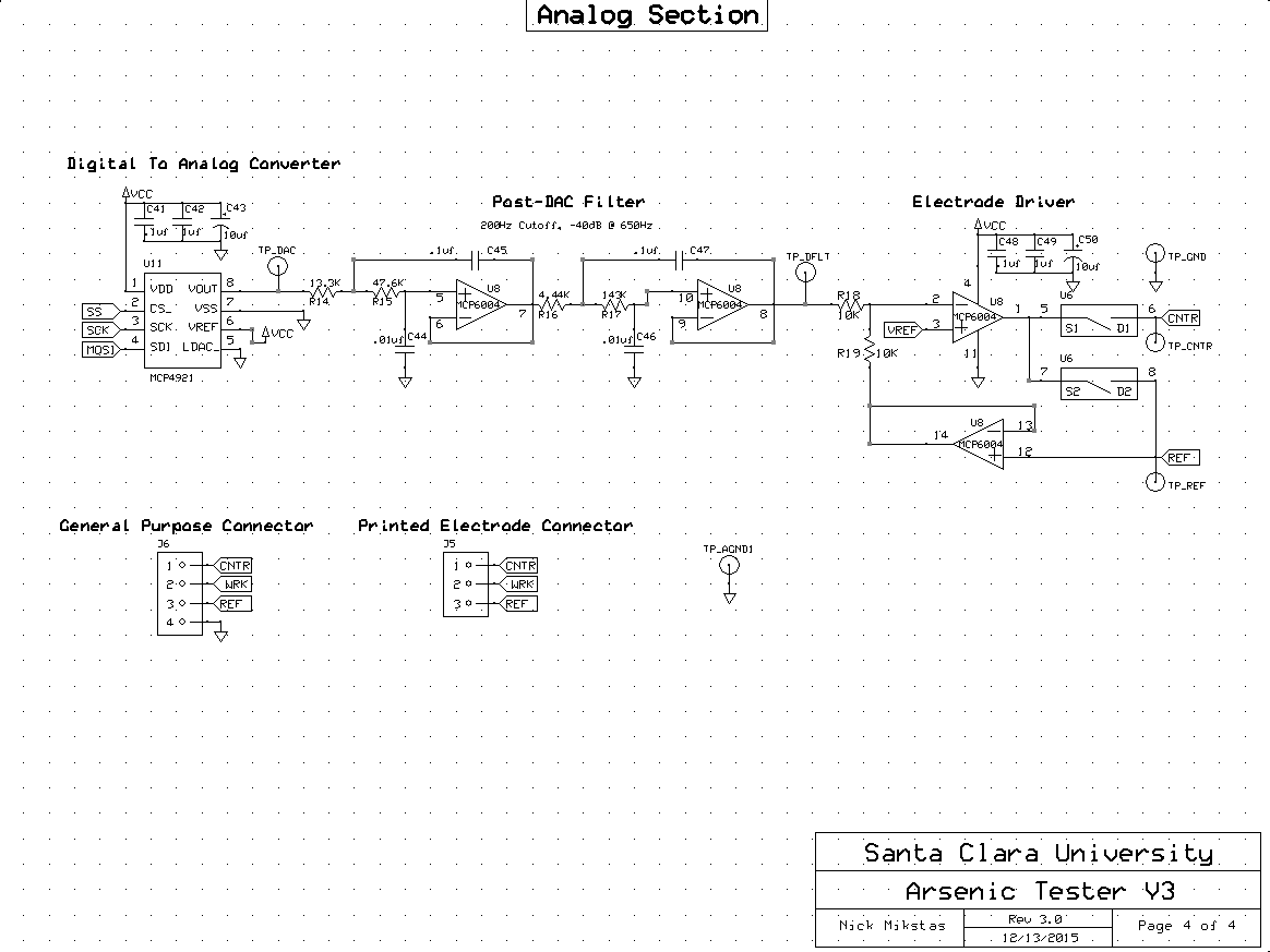 Potentiostat Schematic Page 4