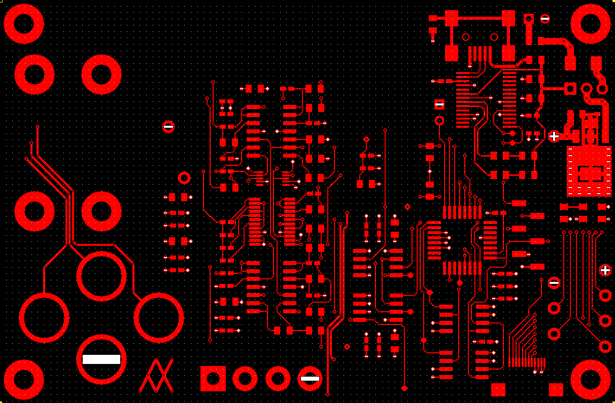 Potentiostat PCB Top Layer