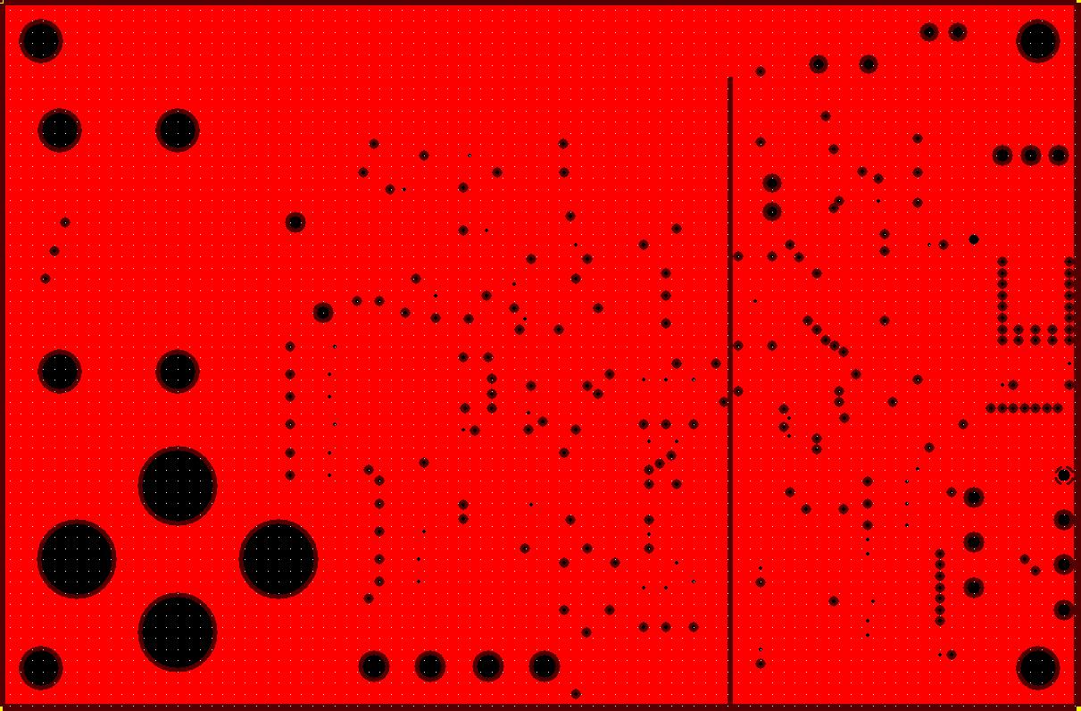 Potentiostat PCB Power Layer