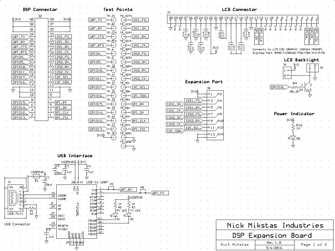 Expnsion Board Schematic Page 1