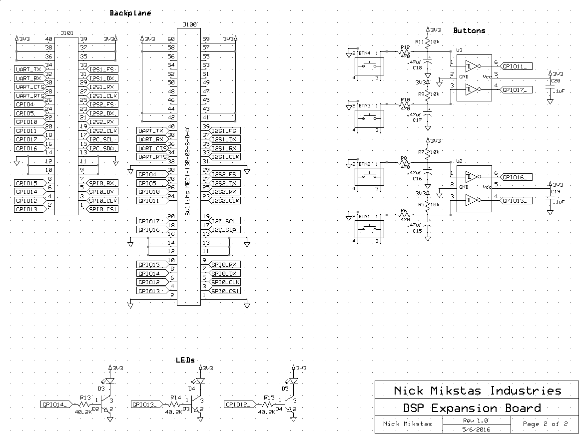 Expansion Board Schematic Page 2