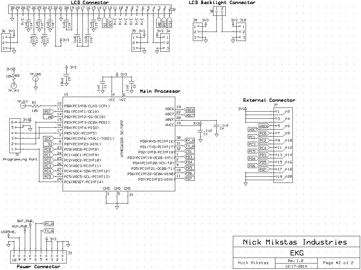LCD Schematic Page 2