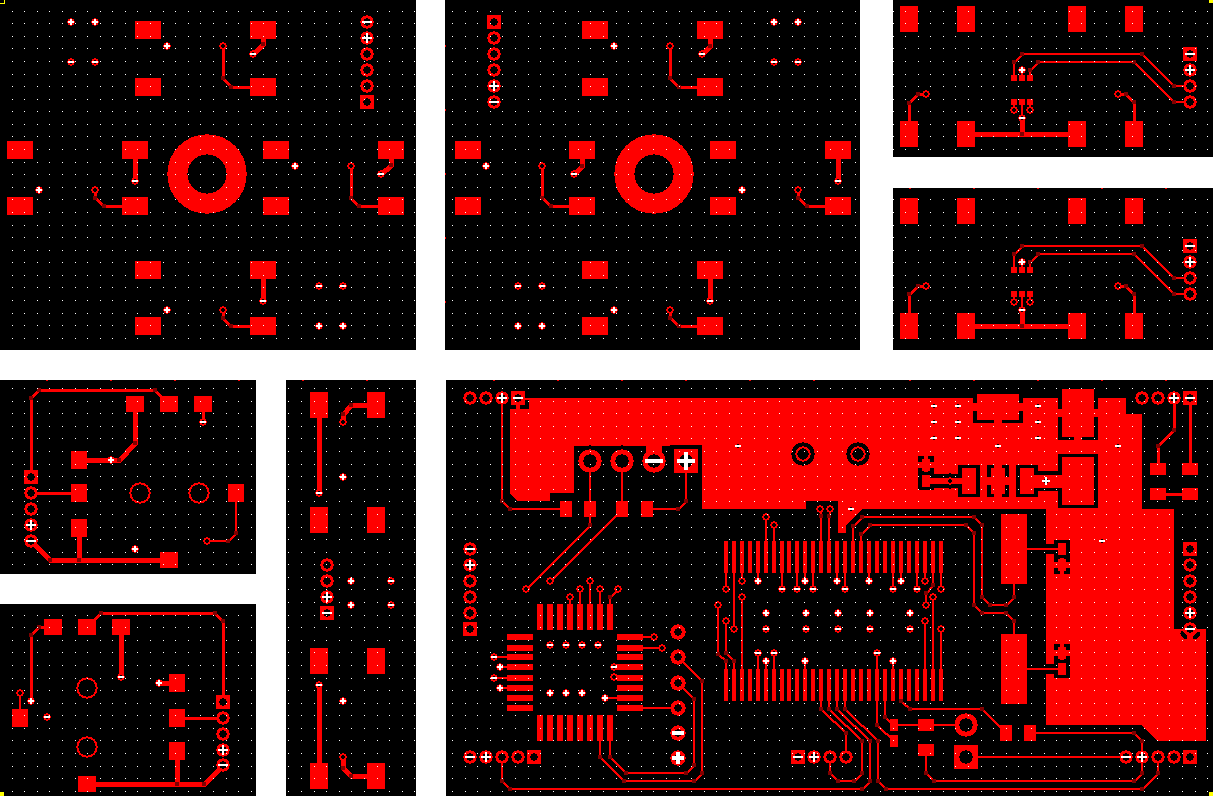 Video Game Controller PCB Top Layer