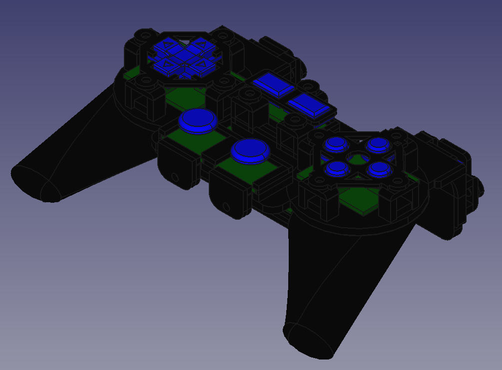 Video Game Controller CAD Design