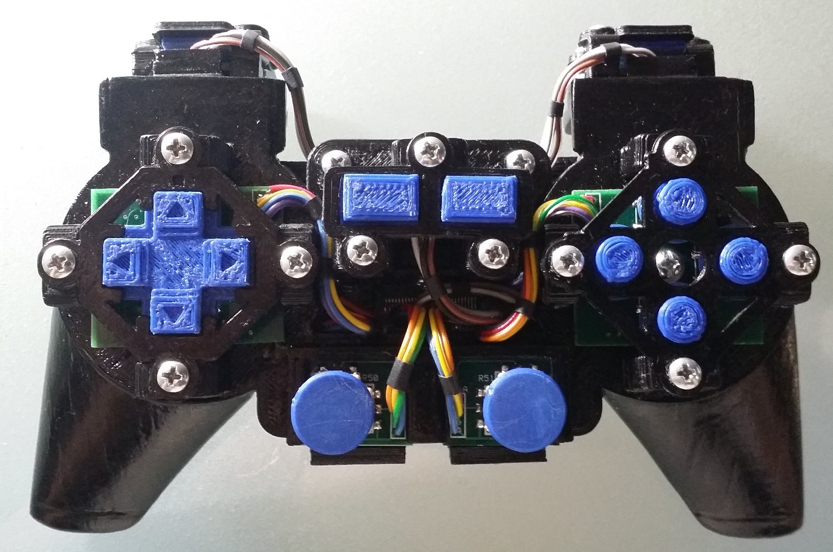 Video Game Controller Top View