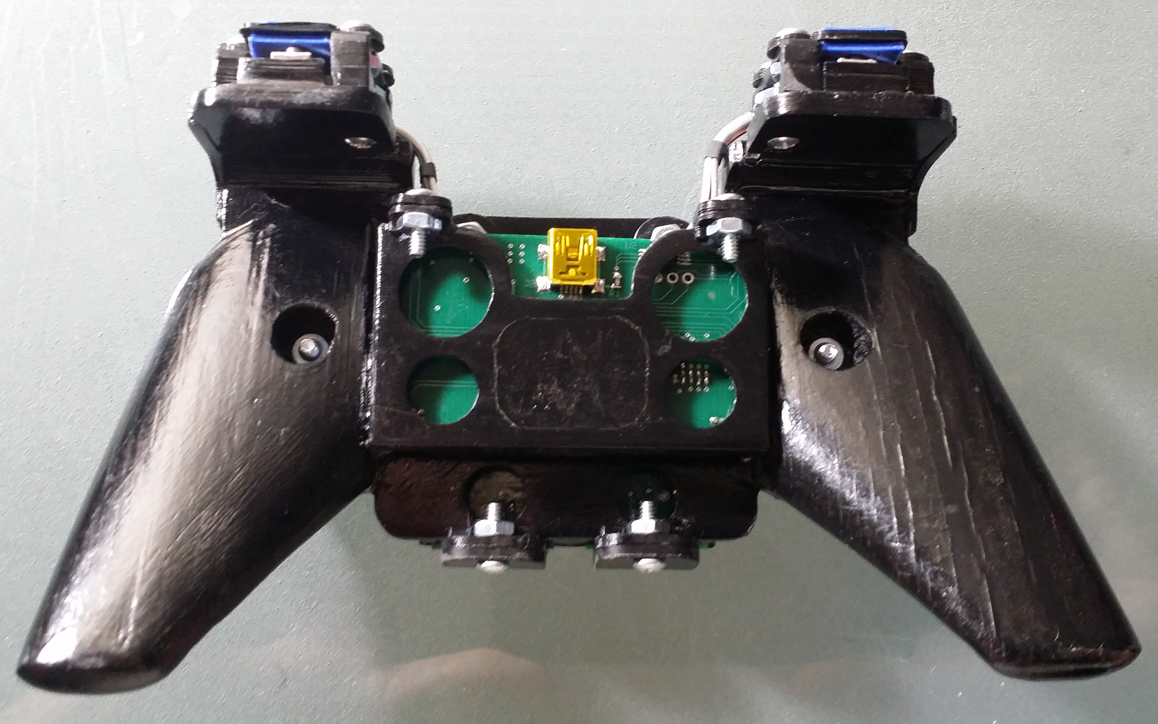 Video Game Controller Bottom View