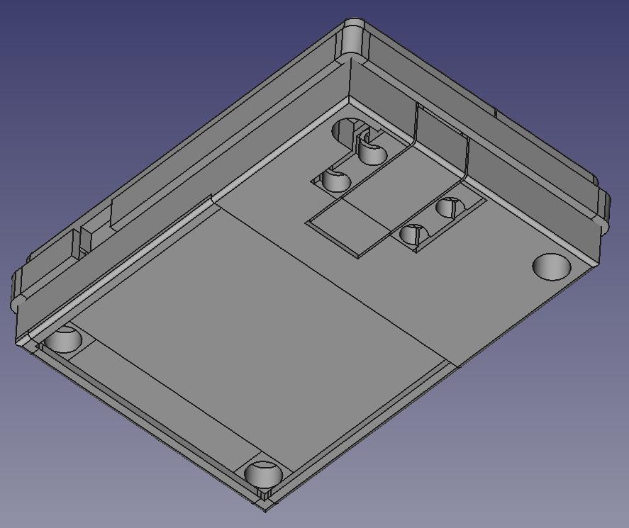 Potentiostat CAD Enclosure