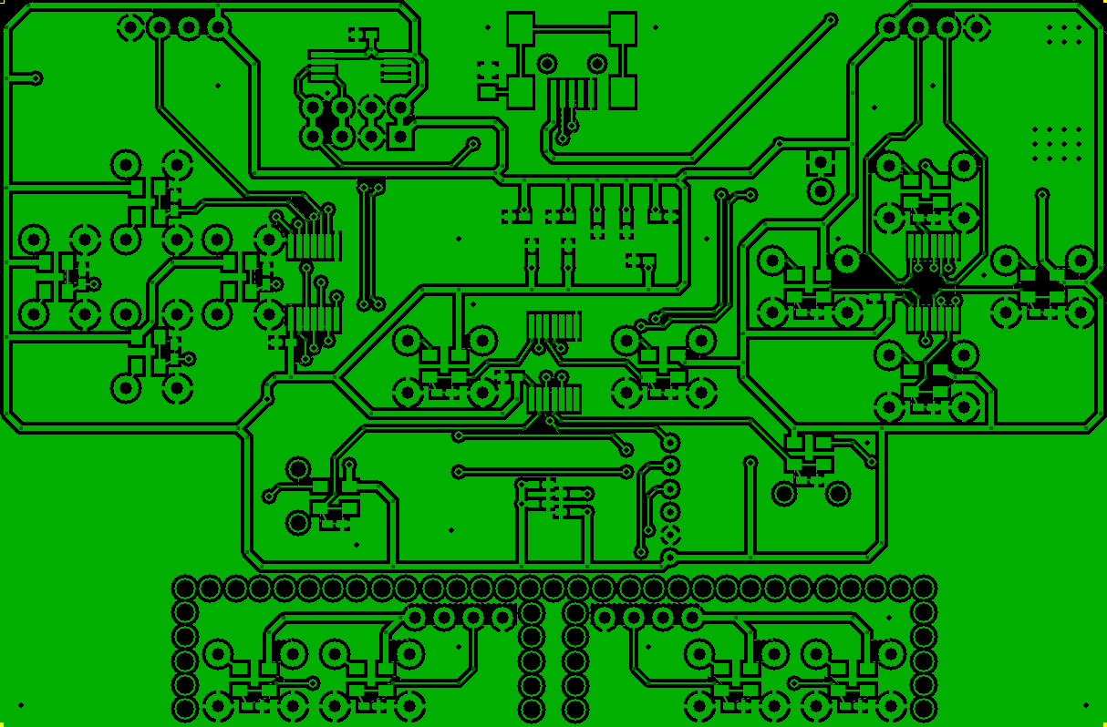 Old Controller PCB Bottom Layer