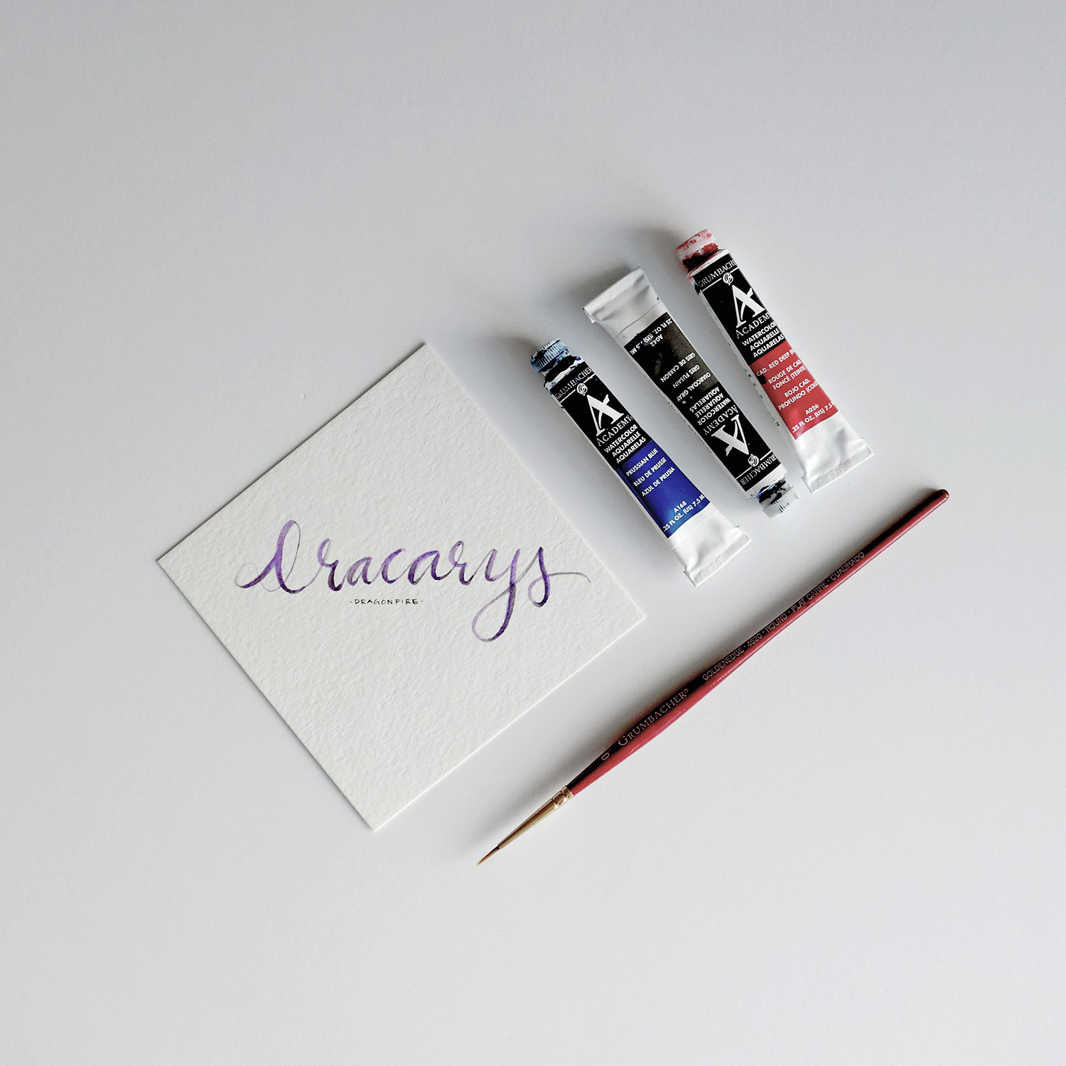 The shorter your messages are, the more likely we paint with gradients and get creative with brush lettering.