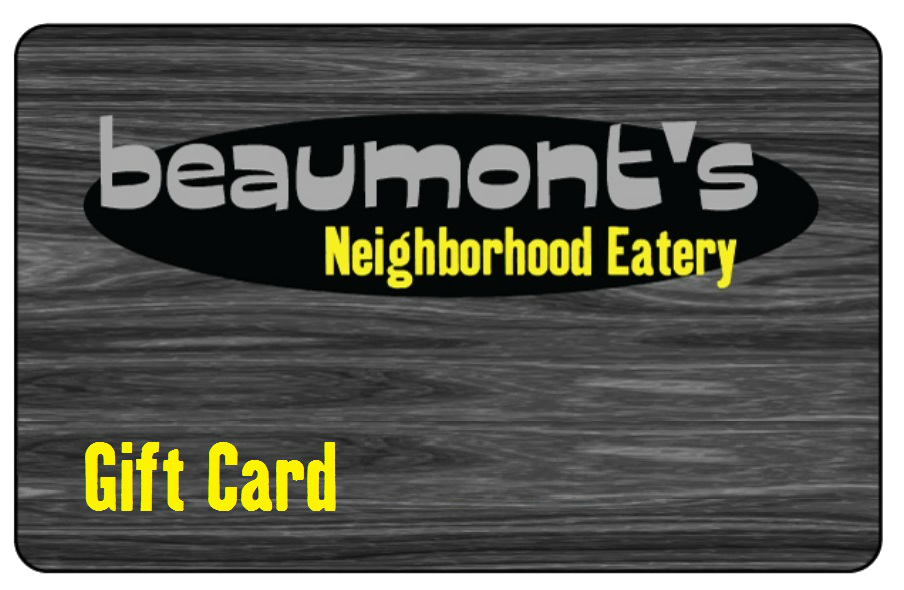 Beaumonts Gift Card