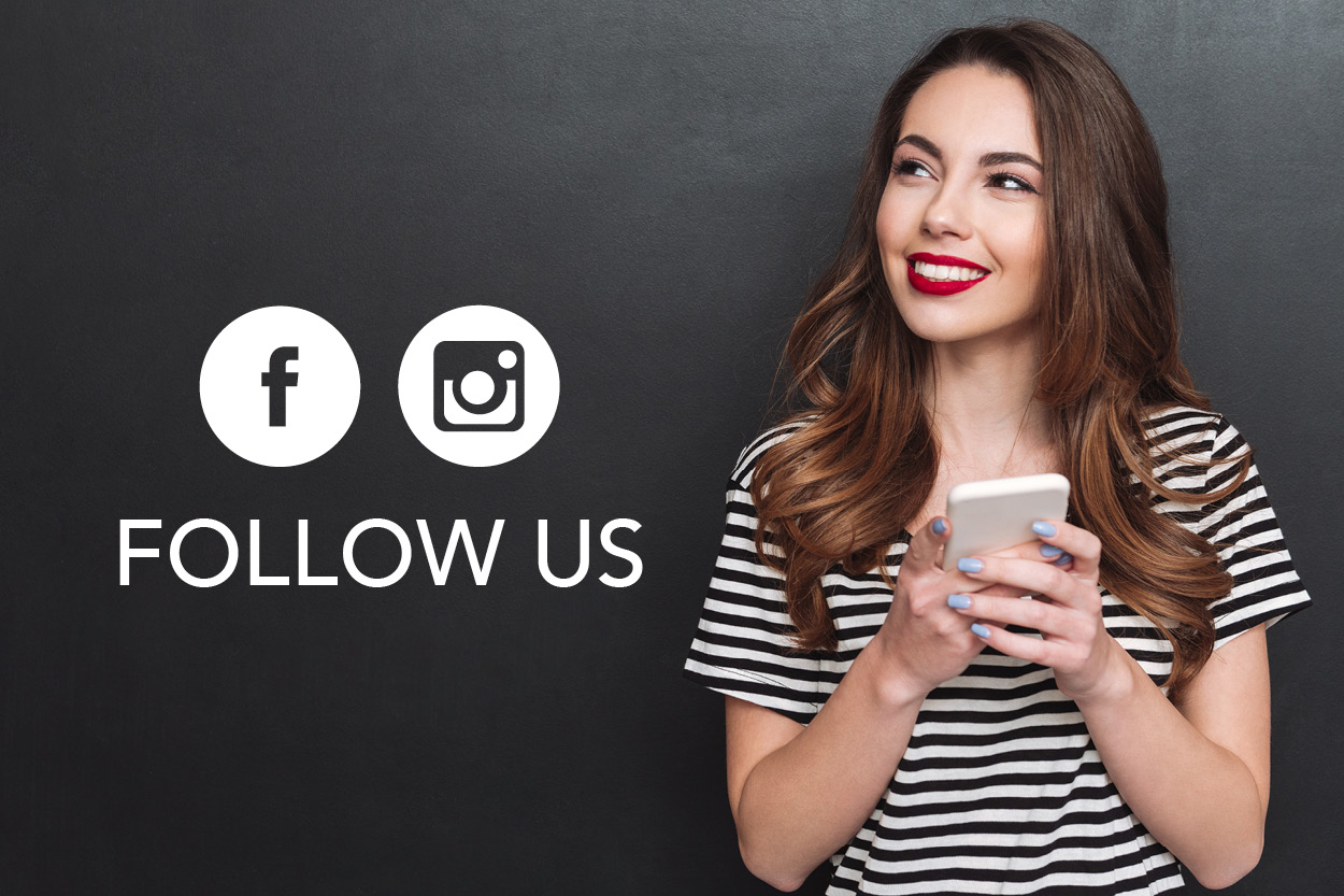 Stay Connected   Visit our  Facebook page  and  Instagram page  for the latest news, events and offers.