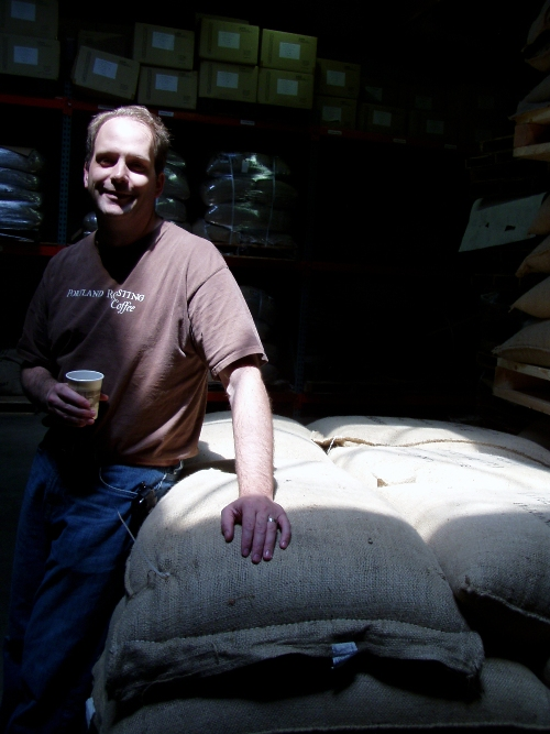 Portland Roasting Coffee Company owner Mark Stell