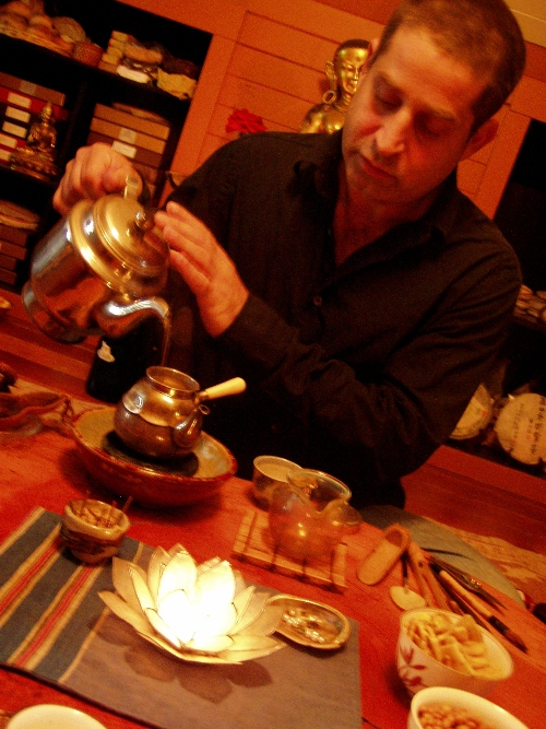 White tea with the Tea Monk