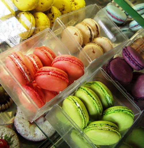 These are a few of my favorite things -- Pix Patisserie macarons.