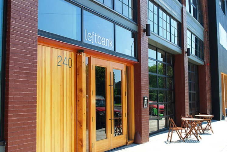 Behind these doors lies a lovely Portland happy hour.