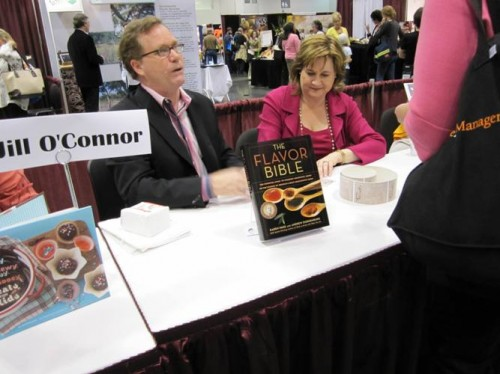 Karen Page and Andrew Dornenburg at the Culinary Book Fair..