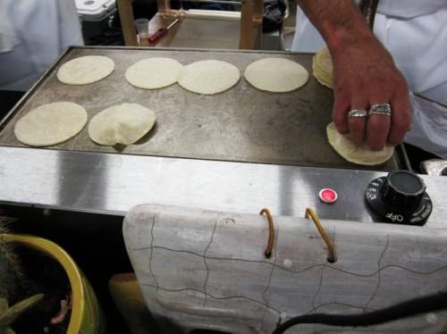 Nuestra Cocina's housemade tortillas...