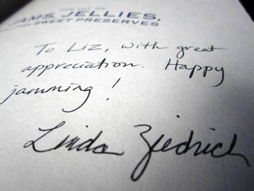 Thank you Linda Ziedrich.