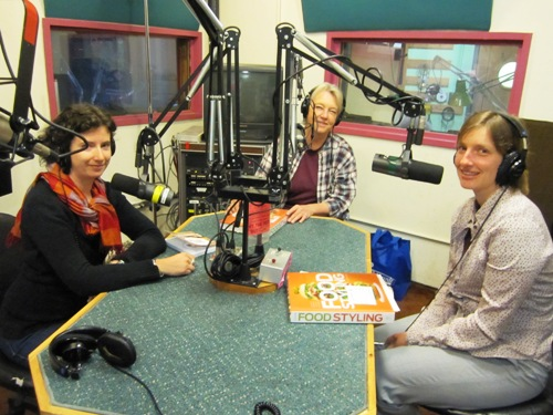 On the KBOO Food Show with Laura McCandlish and Delores Custer.
