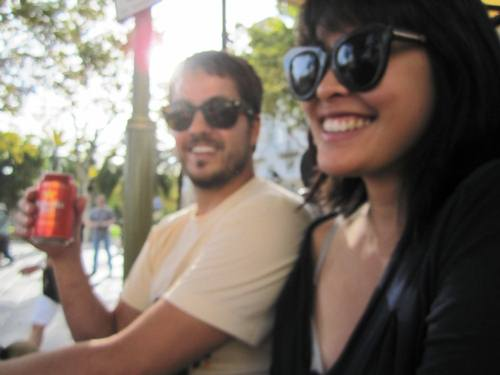 Our last day in Barcelona. Sad but true. Kasey and Rachel in a happy blurry sunny haze. Viva Espana!