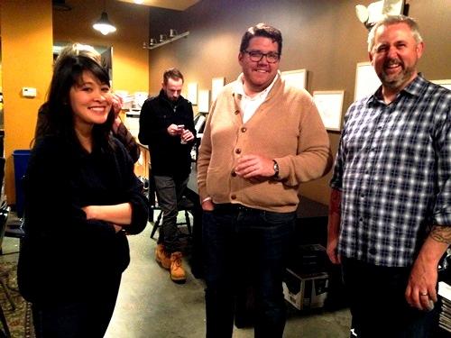 Next stop D.C.! At 826DC pre-event with executive director Joe Calahan.