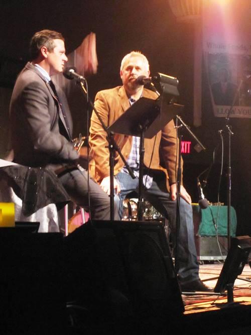 Live Wire Radio host Luke Burbank interviewing John about the Toro Bravo cookbook.