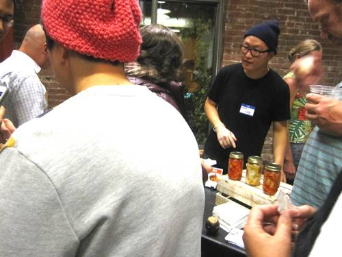 Perennial festival favorite -- Matt Choi of Choi's Kimchi.