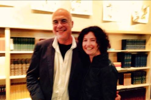 Me and the very charming Mr. Bittman after the Powell's event.