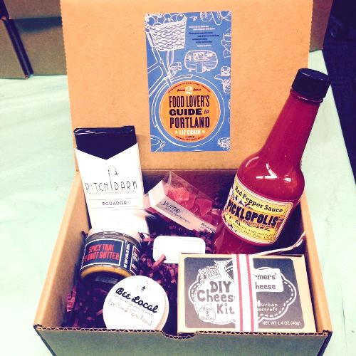 Food Lover's Guide to Portland TIQUE BOX! Available for pre-order!