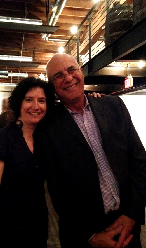 Mr. Mark Bittman and me at the James Beard Public Market fundraiser dinner at Leftbank Annex.