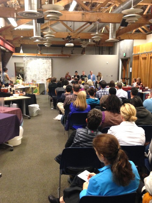 We kicked off the festival again this year with an hour-long panel of fermentation experts.