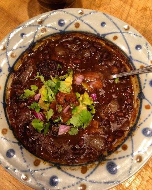 I also made this crazy good Mark Bittman pressure cooker black bean soup recently. The best black been soup I've ever made in THIRTY minutes from dry bean to rich, inky, spicy soup. If you have a pressure cooker find this recipe.