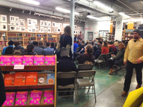 Full house of Sandor fans and fermentation enthusiasts!