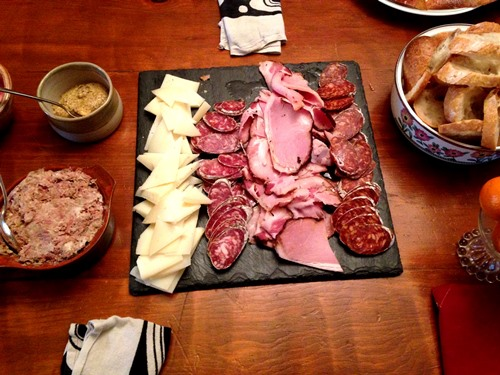 Josh's Olympia Provisions spread. It wasn't from the Toro book obviously but it was a super tasty addition. Pork rillettes, manchego, soppressata, ham, chorizo +++.