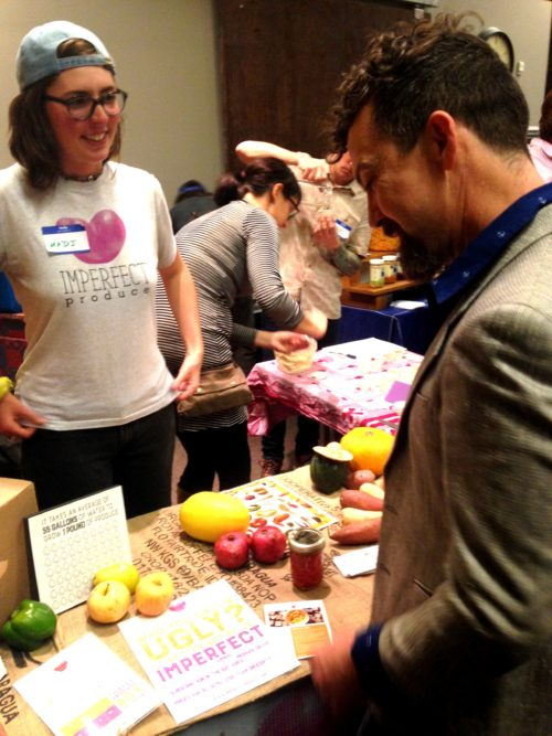 We loved having Madi Kay of Imperfect Produce at the festival this year to talk with attendees all about the good work that the company does. Please check them out at imperfectproduce.com if you haven't already. Inspiring.