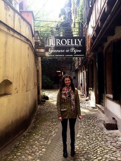 Sweet Rachel in France...