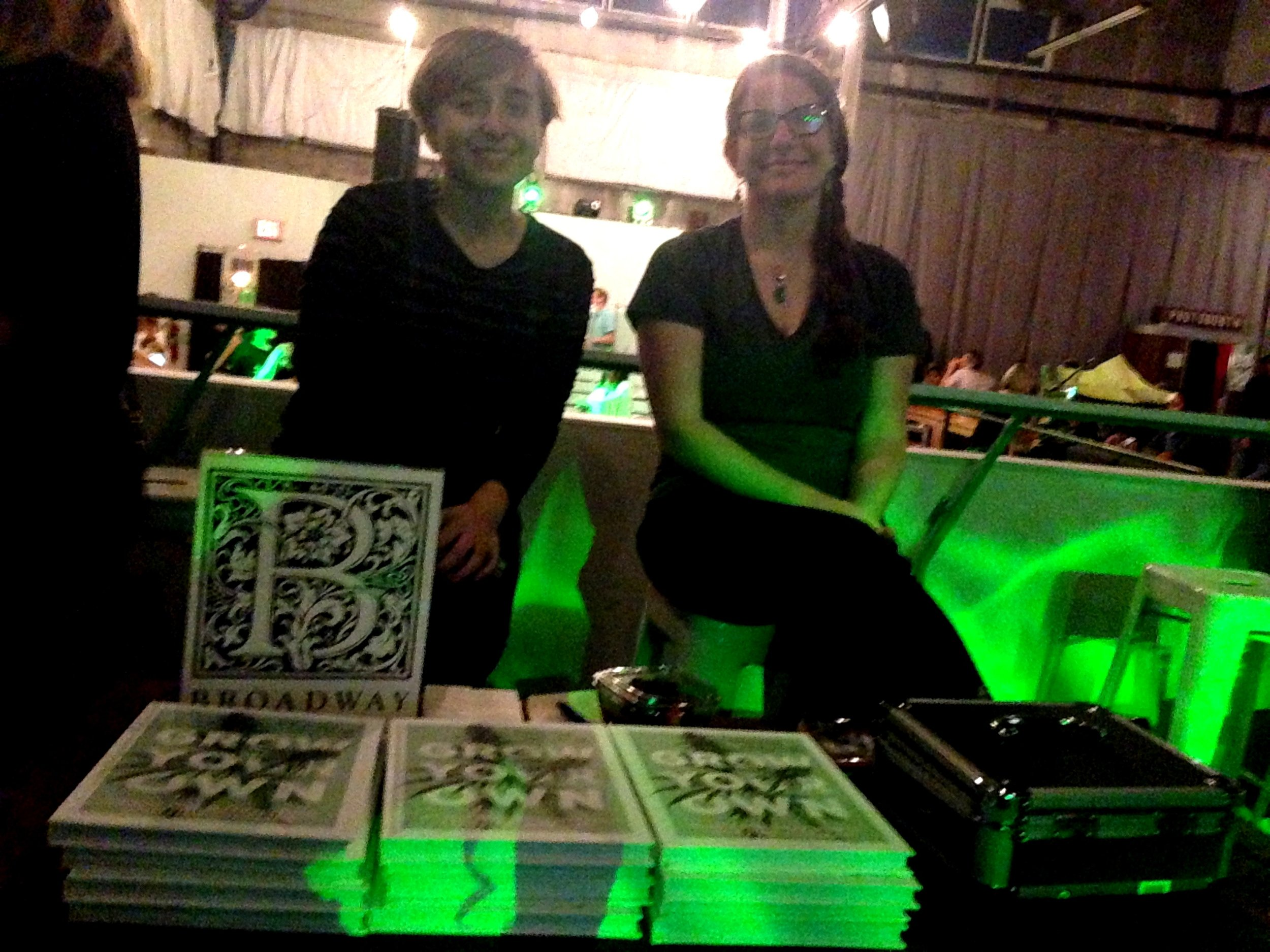 Thank you to  Broadway Books  for selling  Grow Your Own  throughout the night! They sold out!