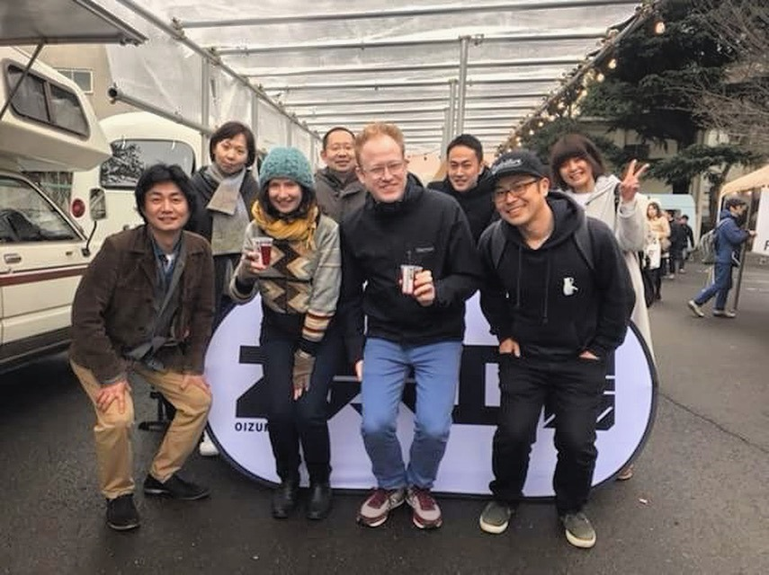 Me and Jimbo with the Oizumi Kombucha crew. These folks are bringing their delicious kombucha to the Portland Fermentation Festival this year!!! Love them and their super tasty kombucha.
