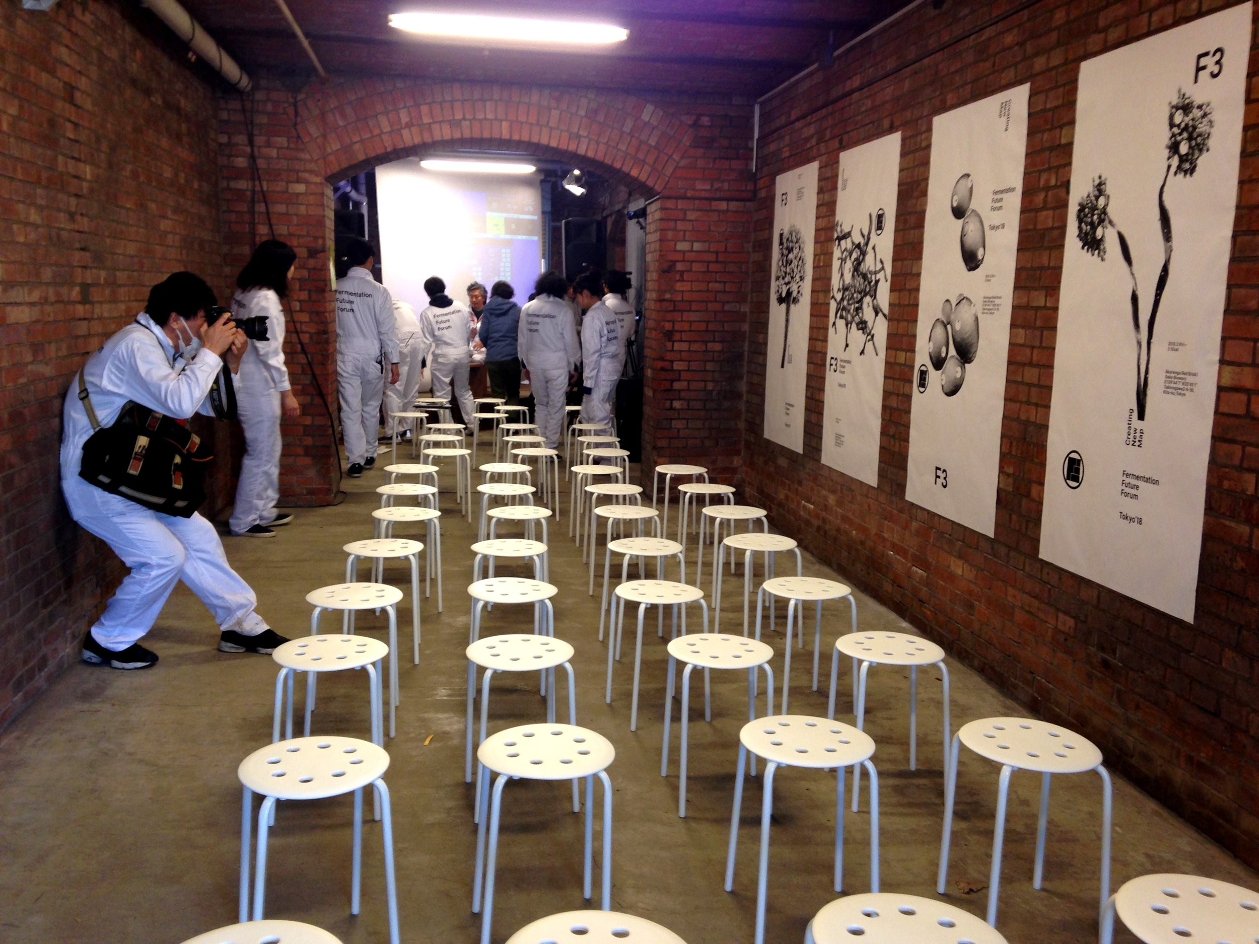 Right when Nhhmbase was done F3 staff swooped in and got the space ready for the next few talks with Shohei Yasuda of Restaurant Kabi, Shinobu Namae of L'Effervescence and other inspiring folks speaking to all things fermentation.