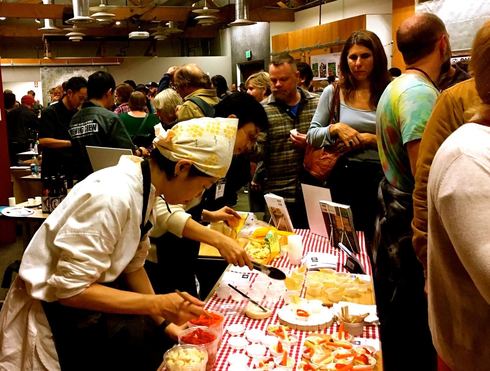 "Other delicious Kitchen Nippon samples — tsukemono, amazake ""mayo"" ++++"