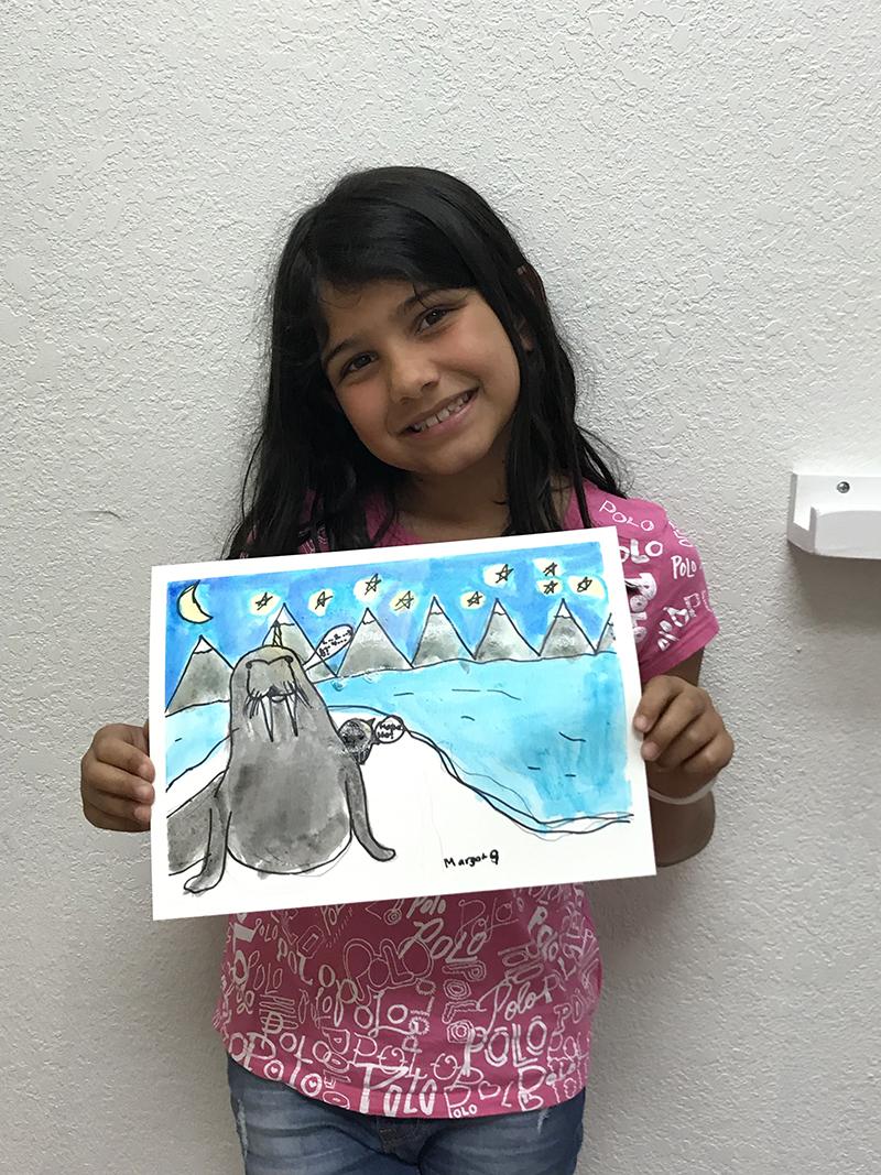 Walrus by Margot, age 8