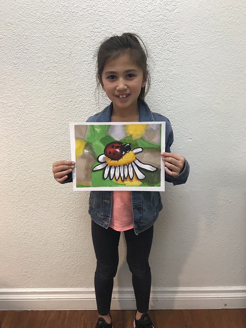 Ladybug by Maddie, age 8
