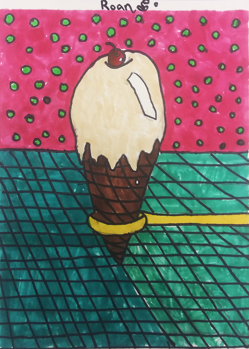 Ice Cream by Roan, age 8