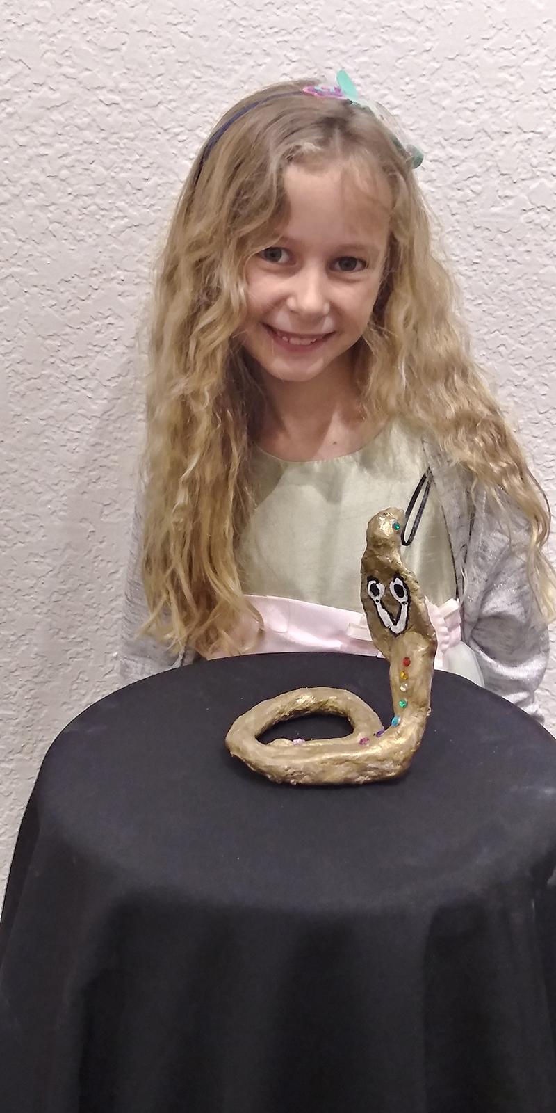 Cobra by Alice, age 7