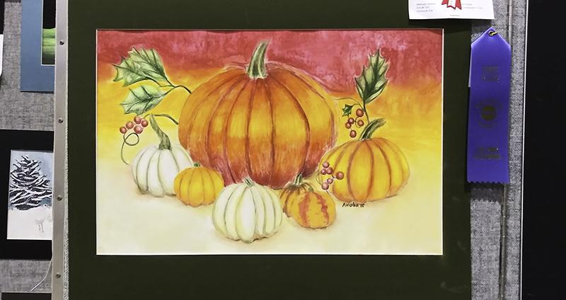 Pumpkins by Amalia, age 10