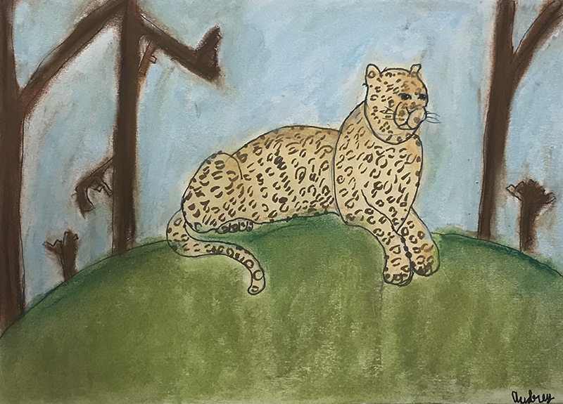 Leopard by Audrey, age 9