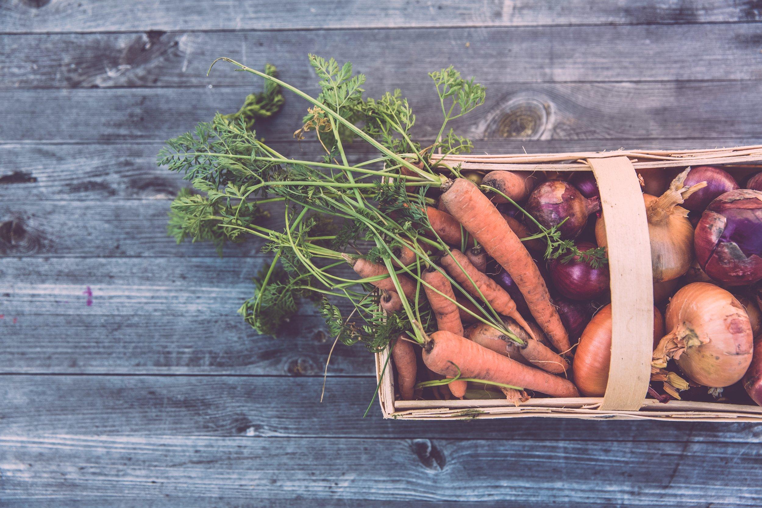 sweet potato carrot ingredients
