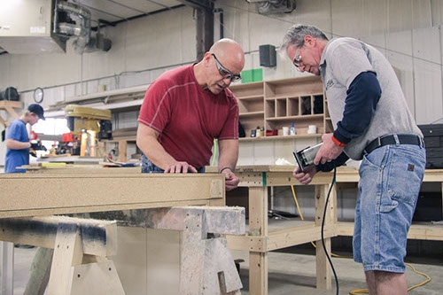 We Build It - We combine state-of-the-art technology with authentic craftsmanship, creating functional displays and millwork that entertain, educate, and engage your audience.