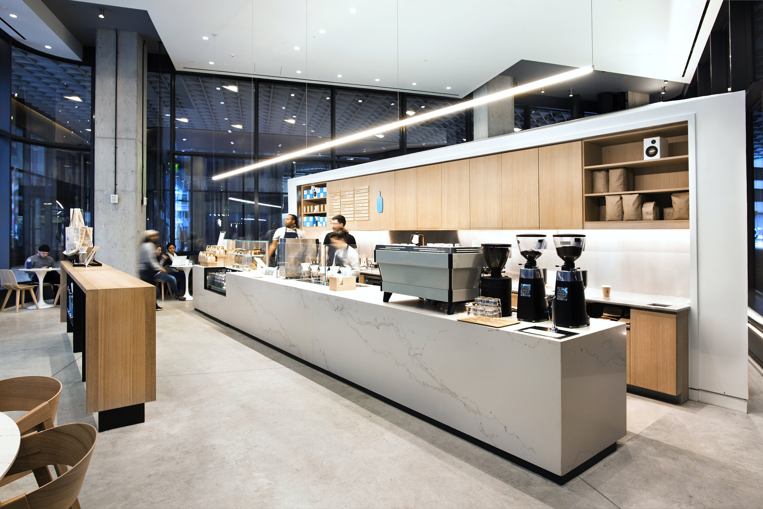Blue Bottle Cafe Veneer Cabinets