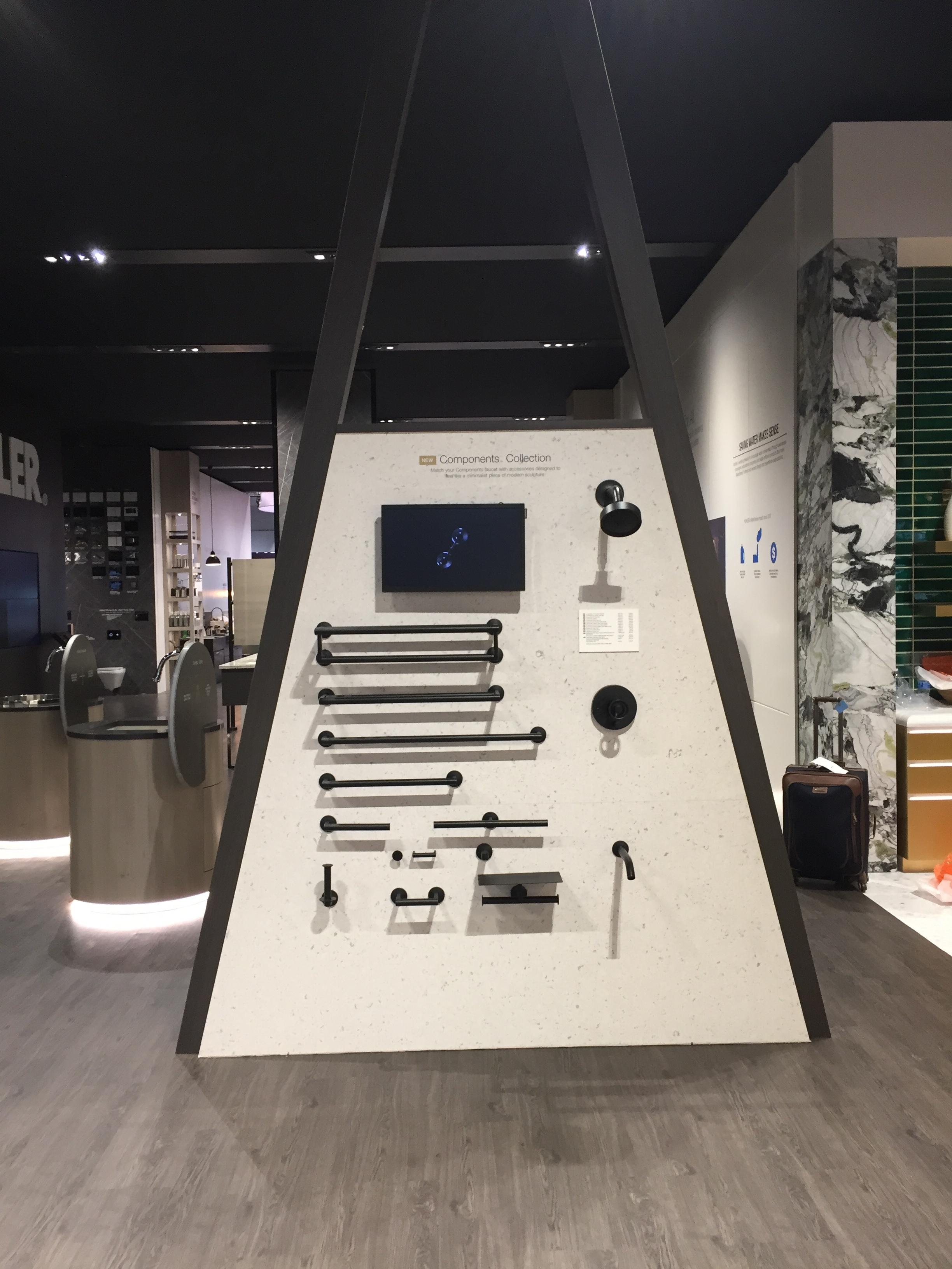 Kohler KBIS Faucet Component Display